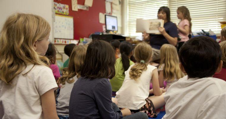 foster children in after school club
