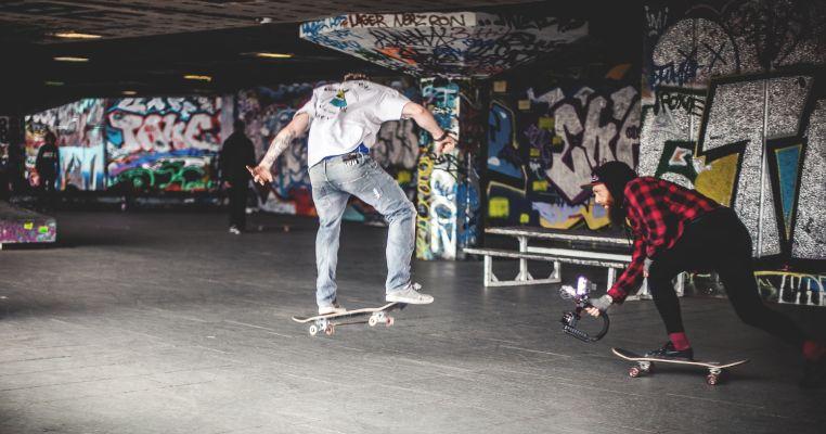 foster kids skateboarding in London